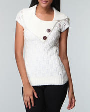Sweaters - Envelope Neck Sweater