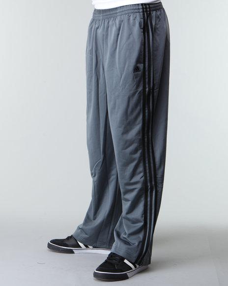 Adidas Men Grey 3 Stripes Pants