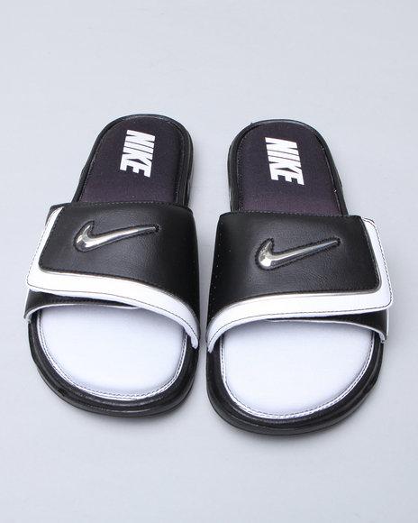 Nike Men Black Nike Comfort Slide Sandals