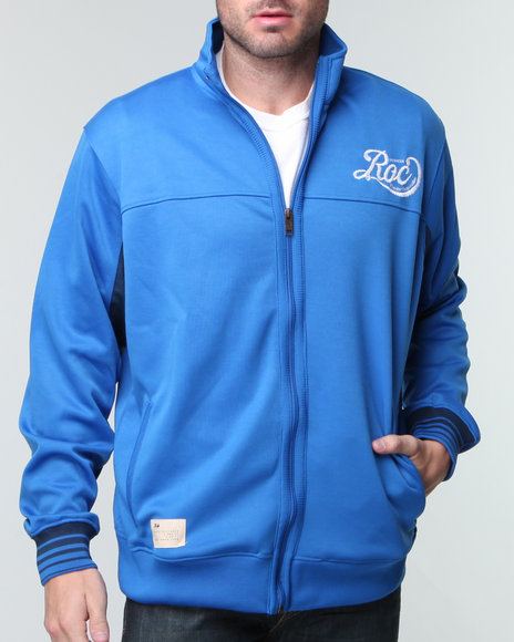 Rocawear Men Blue Roc Track Jacket