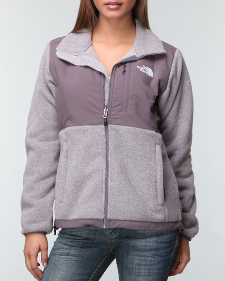 The North Face Women Grey Denali Jacket
