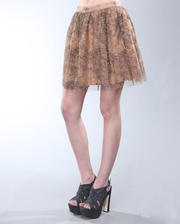 DJP OUTLET - Powell Doodle Mesh Skirt