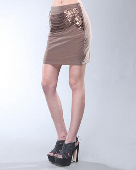 DJP Boutique - Metallic Skirt