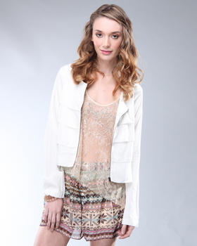 DJP OUTLET - Harper Tiered Jacket