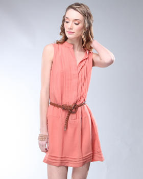 DJP OUTLET - Wren Pleated Gauze Dress