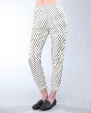 DJP Boutique - Cropped Polka Dot Pant