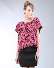DJP Boutique - Two Tone Print Top