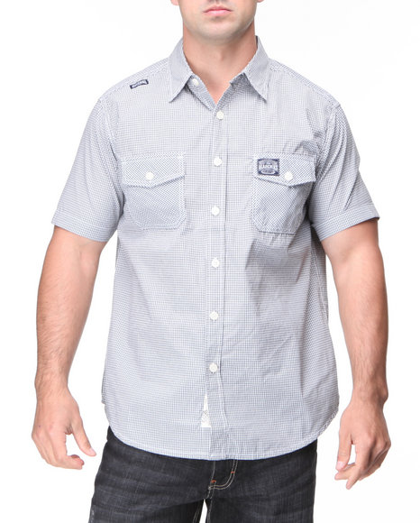 - Panama 3D Check Shirt
