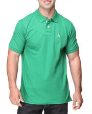 Solid - Cambridge Vintage Wash Pique Polo