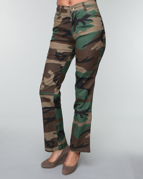 Unique CAMO CADET CARGO PANT  Women39s Plus Size Fashion  Camo Cargo Pants