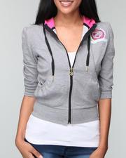 Women - Active 3/4 sleeve hoodie
