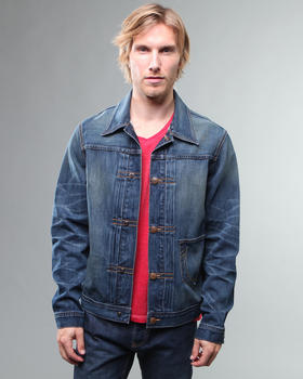 DJP OUTLET - Kyle Jacket in Blue Grass