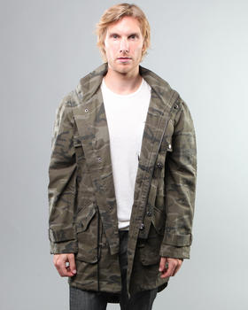 DJP OUTLET - Camo Jumper Anorak Jacket