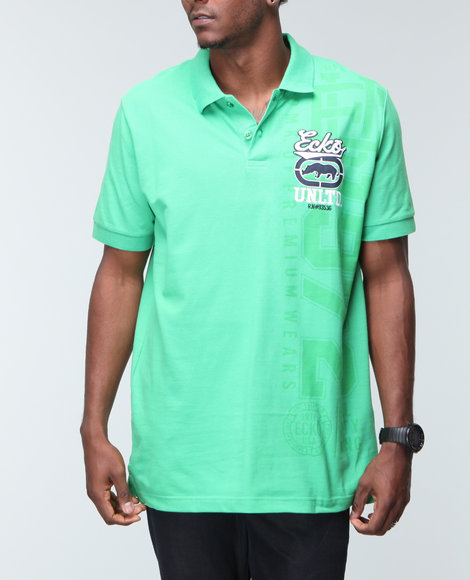 Ecko - Men Green,Green Loyalty Polo