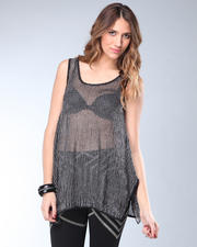 DJP OUTLET - Metallic Net Tank