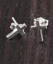 Accessories - Cross Stud Earring
