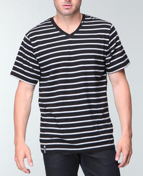 LRG - Core Collection Striped V-Neck S/S Tee