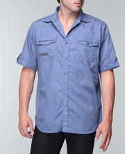 MO7 - Garment Washed S/S shirt
