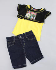 2T-4T Toddlers - Two-fer Top with Bermuda Pants (2T-4T)