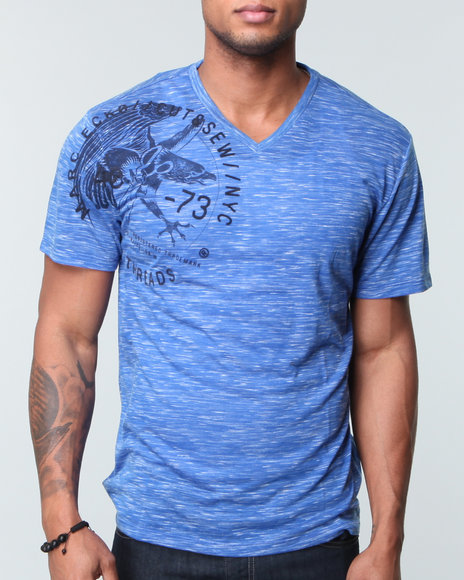 Marc Ecko Collection Men Flocka Birds Tee - Shirts