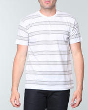 T-Shirt Shop-Men - Striped Crewneck Tee