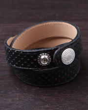 Women - Perforated Leather Strap