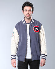 DJP OUTLET - Red Jacket Chicago Cubs Varsity Homeroom Jacket