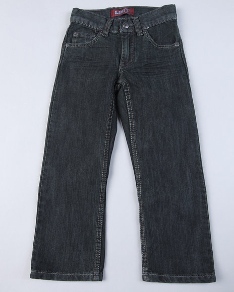 Levis with Button Back Pocket