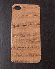 Women - Peach Lust Premium Leather Iphone Sticker