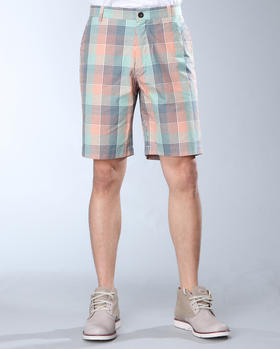 DJP OUTLET - Cotton Check Short