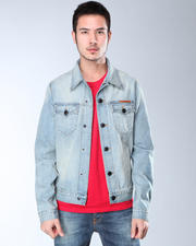 DJP OUTLET - Edison Denim Jacket in Light Wash