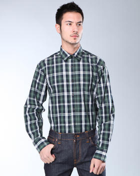 DJP Basics - Premium Plaid L/S Button-Down