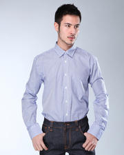 DJP Basics - Premium Striped L/S Button-Down