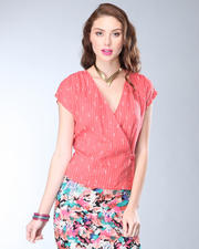 DJP OUTLET - Many Belles Down Florence Wrap Top