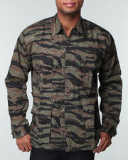 Outerwear Sale-Men - Rothco Tiger Stripe Camouflage BDU Shirt