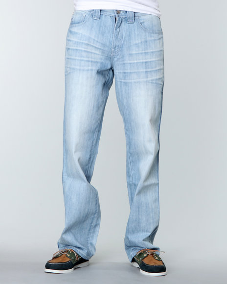 Pelle Pelle Men  Crest New Enzyme Denim Jeans