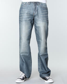 Pelle Pelle - Script Pu Pocket denim jeans