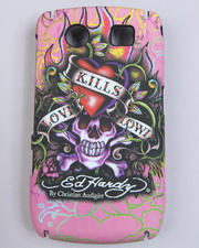 Ed Hardy - LKS Black Berry Curve 8900 Case