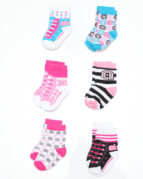 - 6 pack Sneaker Sporty Socks (INF)