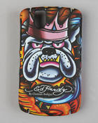 Ed Hardy - King Dog, Black Berry Tour 9630 Case