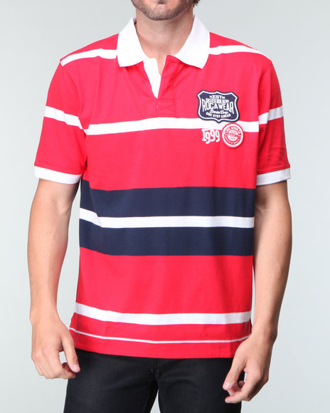Rocawear Men Suppliers Of Quality S/S Polo Red Xx-Large