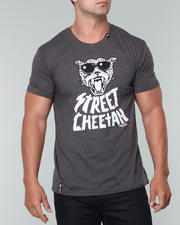 T-Shirt Shop-Men - L R G Street Cheetah Slim - Fit S/S Tee