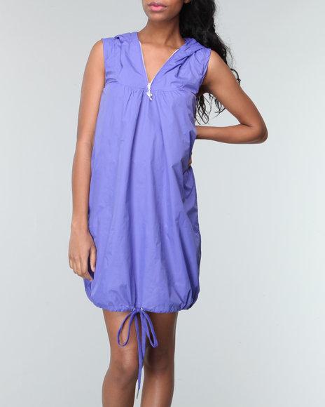 Akademiks Women Purple Carnival Nylon Dress