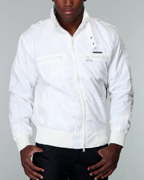Live Mechanics White Victors Perforat Jacket