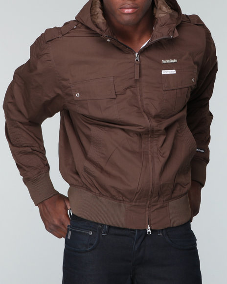 Live Mechanics Men Brown Victors Only W/ Hoodie