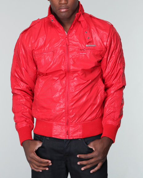 Live Mechanics Red Victors Perforat Jacket