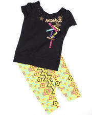 Girls - Open Back Tunic with Legging (INF)