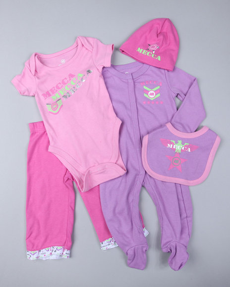 Mecca Girls Girls Pink Value Set 5Pc (Newborn)