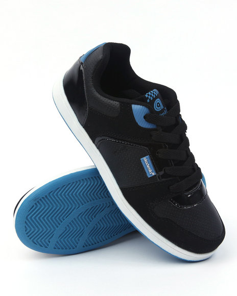 - Low Top Patent and Suede Sneaker (Boys 3.5-7)