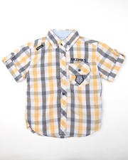 4-7x Little Boys - Premium Woven Shirts (4-7)
